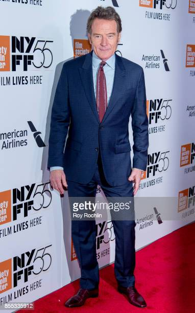 Bryan Cranston attends the 55th New York Film Festival Opening Night Premiere Of 'Last Flag Flying' at Alice Tully Hall Lincoln Center on September...