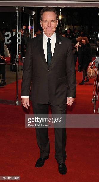 Bryan Cranston attends the Accenture Gala Screening of 'Trumbo' during the BFI London Film Festival at Odeon Leicester Square on October 8 2015 in...
