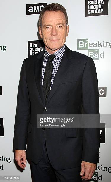 Bryan Cranston attends The Film Society Of Lincoln Center And AMC Celebration Of Breaking Bad Final Episodes at The Film Society of Lincoln Center...