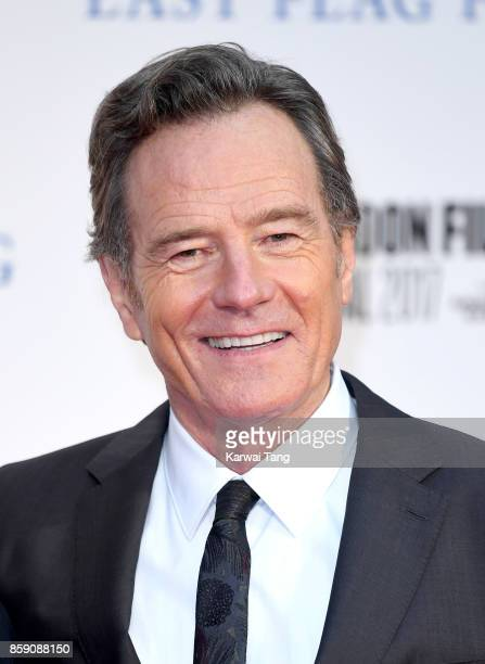 Bryan Cranston attends the Headline Gala Screening International Premiere of 'Last Flag Flying' during the 61st BFI London Film Festival at Odeon...