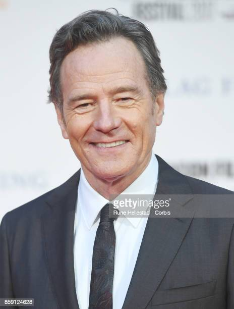 Bryan Cranston attends the Headline Gala Screening International Premiere of 'Last Flag Flying' during the 61st BFI London Film Festival on October 8...