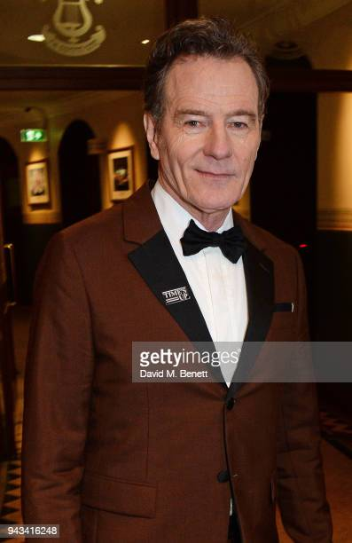 Bryan Cranston attends The Olivier Awards with Mastercard at Royal Albert Hall on April 8 2018 in London England