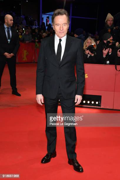 Bryan Cranston attends the Opening Ceremony 'Isle of Dogs' premiere during the 68th Berlinale International Film Festival Berlin at Berlinale Palace...
