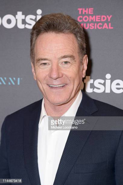 """Bryan Cranston attends the opening night of """"Tootsie"""" on Broadway at the Marquis Theatre on April 23, 2019 in New York City."""