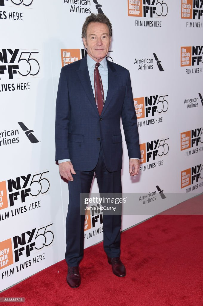 Bryan Cranston attends the opening night premiere of 'Last Flag Flying' during the 55th New York Film Festival at Alice Tully Hall, Lincoln Center on September 28, 2017 in New York City.