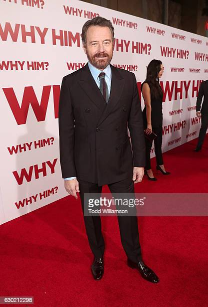 Bryan Cranston attends the premiere of 20th Century Fox's Why Him at Regency Bruin Theater on December 17 2016 in Westwood California