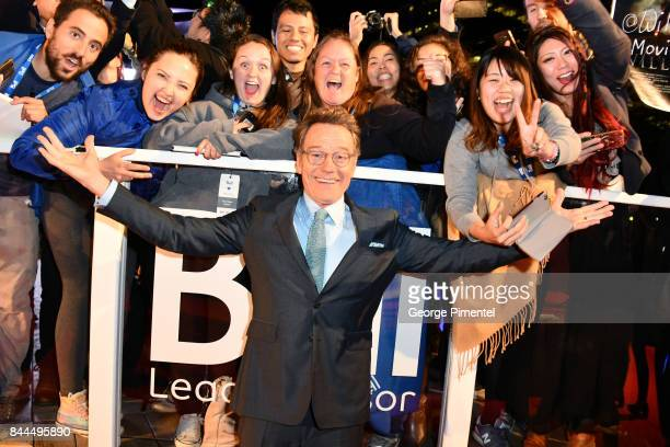 Bryan Cranston attends The Upside premiere during the 2017 Toronto International Film Festival at Roy Thomson Hall on September 8 2017 in Toronto...