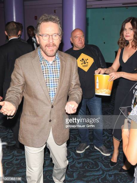 Bryan Cranston Dean Norris and Betsy Brandt are seen on July 19 2018 in California