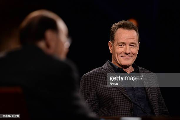 STUDIO Bryan Cranston Pictured James Lipton Bryan Cranston