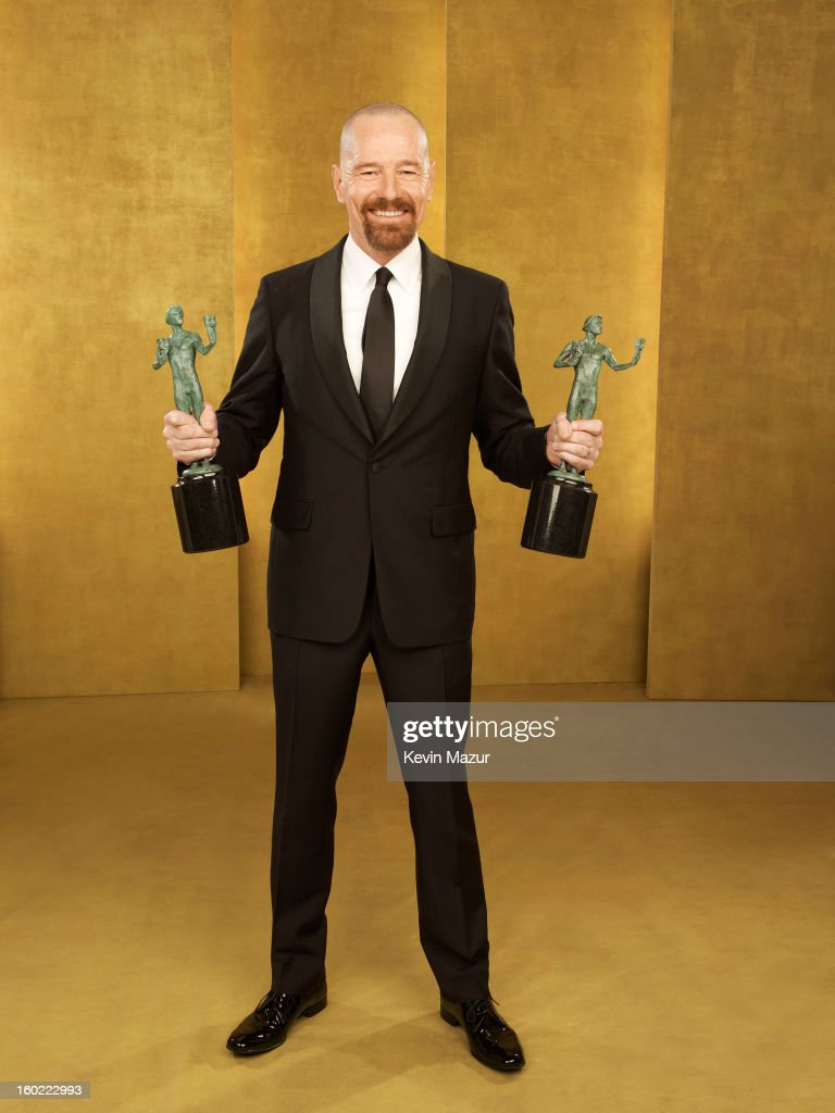 Bryan Cranston poses during the 19th Annual Screen Actors Guild Awards at The Shrine Auditorium on January 27, 2013 in Los Angeles, California. (Photo by Kevin Mazur/WireImage) 23116_027_0279_R.jpg