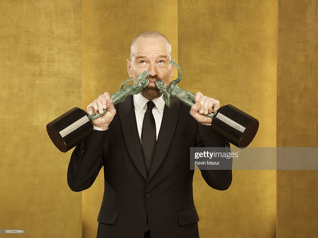 Bryan Cranston poses during the 19th Annual Screen Actors Guild Awards at The Shrine Auditorium on January 27, 2013 in Los Angeles, California. (Photo by Kevin Mazur/WireImage) 23116_027_0284_R.jpg