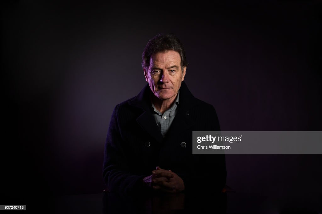 Bryan Cranston posing for a portrait at The Cambridge Union on January 19, 2018 in Cambridge, Cambridgeshire.