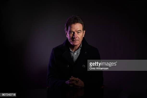 Bryan Cranston posing for a portrait at The Cambridge Union on January 19 2018 in Cambridge Cambridgeshire