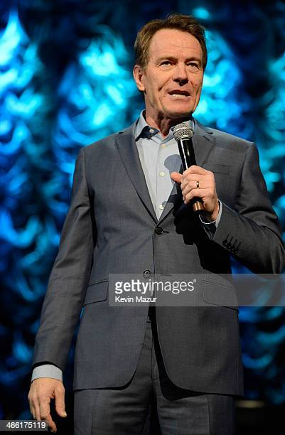 Bryan Cranston speaks onstage 'Howard Stern's Birthday Bash' presented by SiriusXM produced by Howard Stern Productions at Hammerstein Ballroom on...