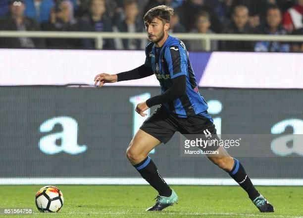 Bryan Cristante of Atalanta BC in action during the Serie A match between Atalanta BC and FC Crotone at Stadio Atleti Azzurri d'Italia on September...