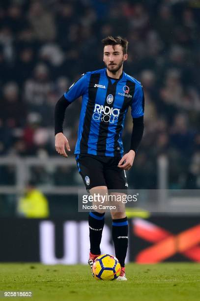 Bryan Cristante of Atalanta BC in action during the TIM Cup football match between Juventus FC and Atalanta BC Juventus FC won 10 over Atalanta BC