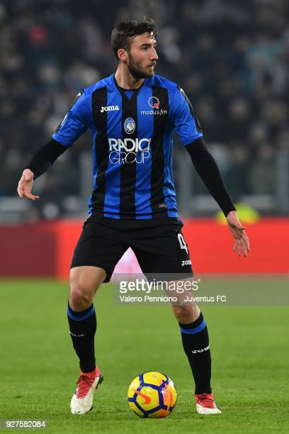 Bryan Cristante of Atalanta BC in action during the TIM Cup match between Juventus and Atalanta BC at Allianz Stadium on February 28 2018 in Turin...