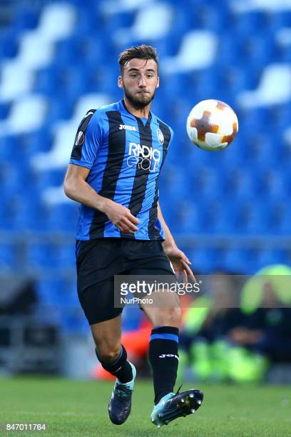 Bryan Cristante of Atalanta during the UEFA Europa League group E match between Atalanta and Everton FC at Stadio Citta del Tricolore on September 14...