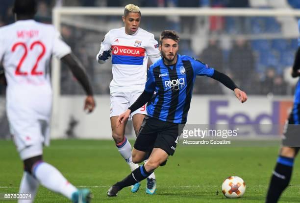 Bryan Cristante of Atalanta in action during the UEFA Europa League group E match between Atalanta and Olympique Lyon at Mapei Stadium Citta' del...