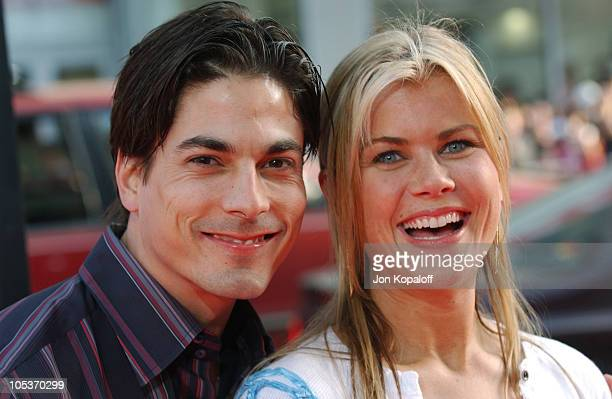 Bryan Dattilo and Alison Sweeney during The Whole Ten Yards World Premiere at Grauman's Chinese Theatre in Hollywood CA United States