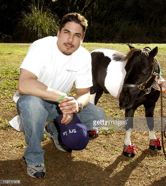 Bryan Dattilo and Leo during 4th Annual Dogwalk to Fund Curesearch National Childhood Cancer Foundation at Temescal Canyon Park in Pacific Palisades...