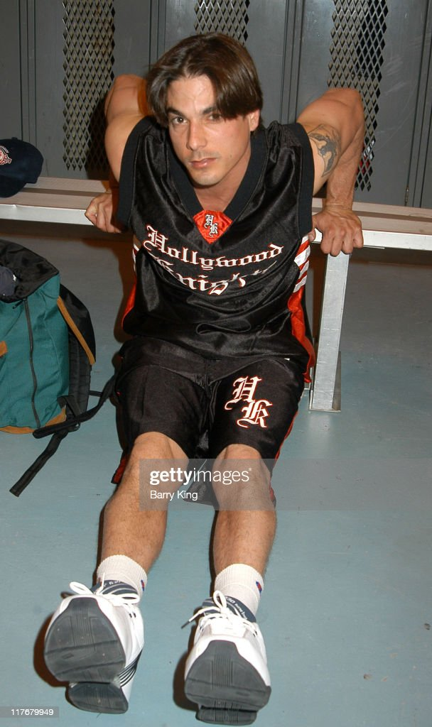 Bryan Dattilo during Hollywood Knights Basketball Game - Fullerton at Troy High School in Fullerton, California, United States.