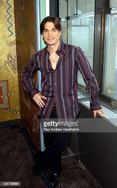 Bryan Dattilo of 'Days of Our Lives' during 31st Annual Daytime Emmy Awards Nominations Announced Live on 'The Today Show' at Rainbow Room in New...