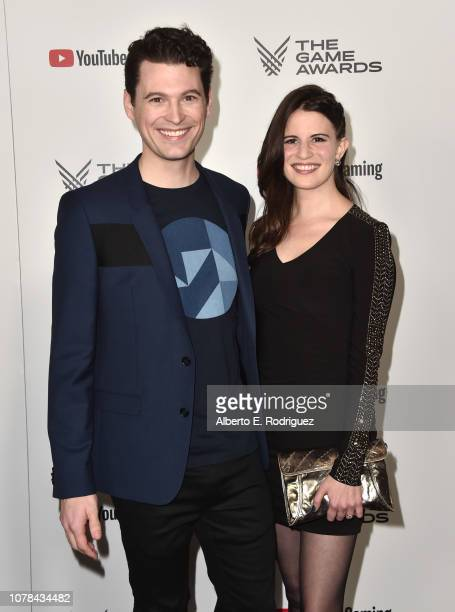 Bryan Dechart and Amelia Rose Blaire attend The 2018 Game Awards at Microsoft Theater on December 06 2018 in Los Angeles California