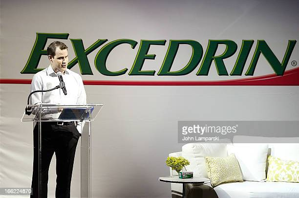 Bryan Duke for Excedrin Laughs At Life's Biggest Headaches at Arena on April 10 2013 in New York City
