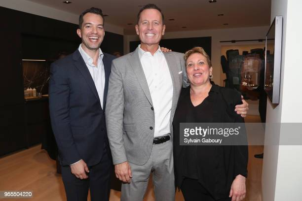Bryan Eyre Ambassador Richard Grenell and Michele Burns attend Ambassador Grenell Goodbye Bash on May 6 2018 in New York City