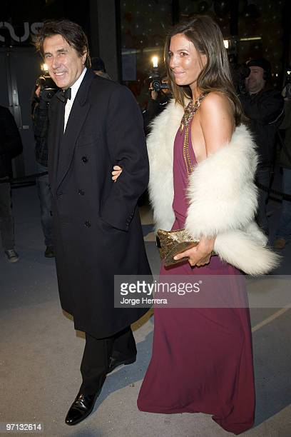 Bryan Ferry and Amanda Sheppard attends the Love Ball London hosted by Natalia Vodianova and Harper's Bazaar as part of London Fashion Week...
