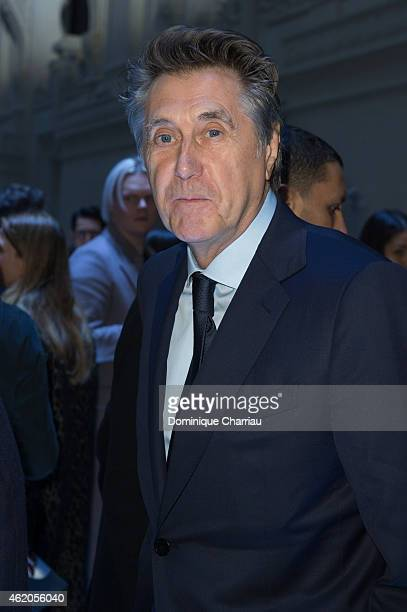 Bryan Ferry attends the Berluti Menswear Fall/Winter 20152016 show as part of Paris Fashion Week on January 23 2015 in Paris France