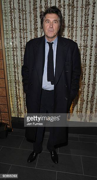 Bryan Ferry attends the book launch party for Nicky Haslam's autobiography 'Redeeming Features' on November 5 2009 in London England