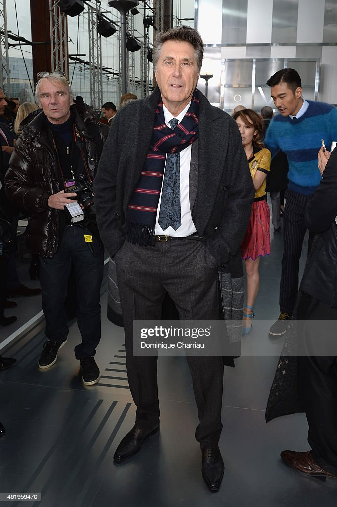 Louis Vuitton : Front Row - Paris Fashion Week - Menswear F/W 2015-2016