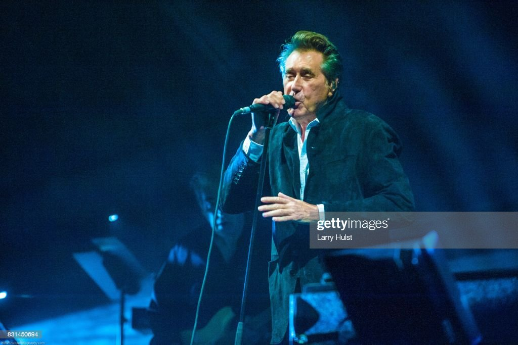 Bryan Ferry brought his newest tour to the Paramount Theater in Denver, CO. on August 3, 2017.