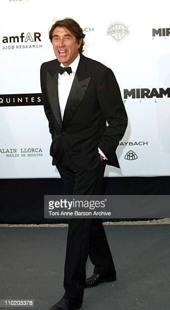 """Bryan Ferry during amfAR's """"Cinema Against AIDS Cannes"""" Benefit Sponsored by Miramax and Quintessentially - Arrivals at Moulin De Mougins in Cannes,..."""
