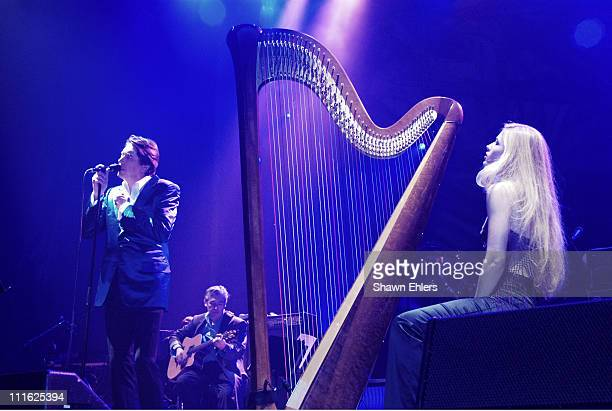 Bryan Ferry during Bryan Ferry performs at the Beacon at Beacon Theatre in New York United States