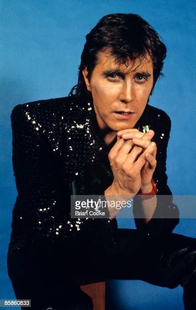 Bryan Ferry of Roxy Music from studio photo shoot in West London on September 18 1972