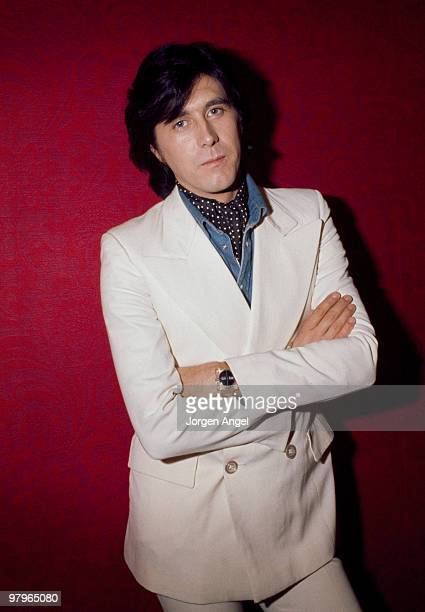 Bryan Ferry of Roxy Music poses for a portrait at the Holiday Inn on October 28th 1973 in Manchester United Kingdom