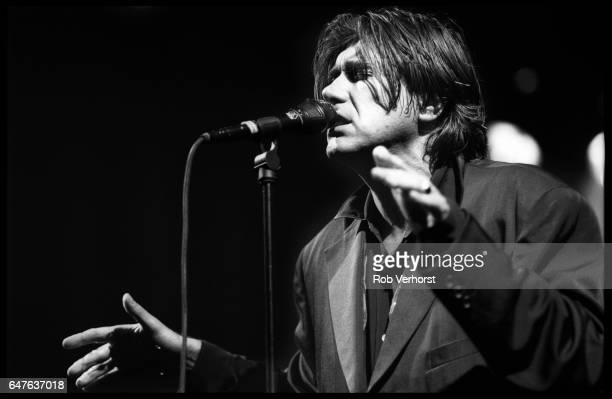 Bryan Ferry performs a solo concert on stage at Congresgebouw The Hague Netherlands 30th January 1995