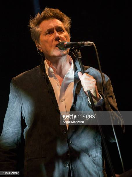Bryan Ferry performs on stage at Noches del Botanico on July 19 2017 in Madrid Spain