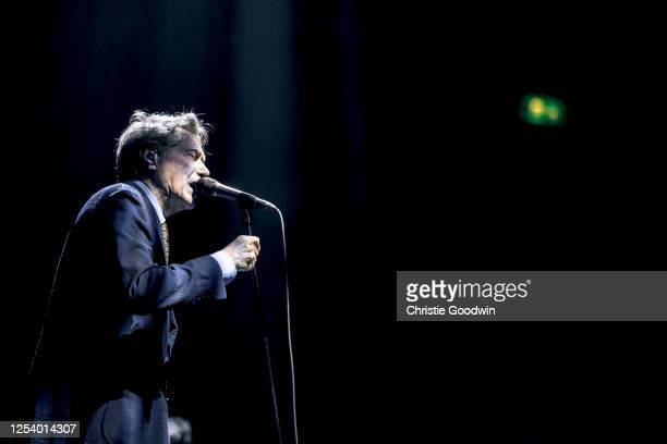 Bryan Ferry performs on stage at the Royal Albert Hall on March 11 2020 in London England
