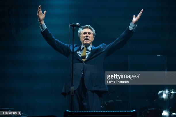 Bryan Ferry performs on stage during Rewind Scotland 2019 at Scone Palace on July 21, 2019 in Perth, Scotland.