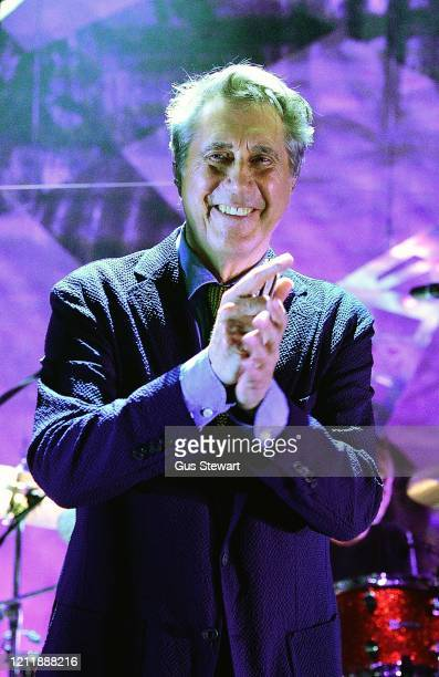 Bryan Ferry performs on stage to coincide with his new release 'Live at the Royal Albert Hall 1974' at the Royal Albert Hall on March 11 2020 in...