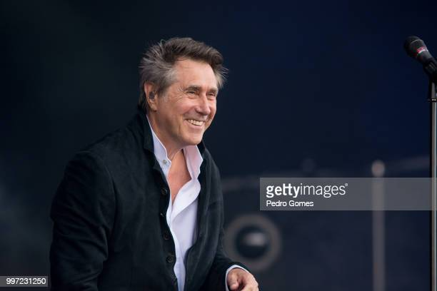 Bryan Ferry performs on the NOS stage on day 1 of NOS Alive festival on July 12 2018 in Lisbon Portugal