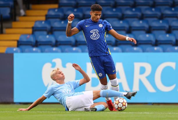 GBR: FC Chelsea v Malmo FF - UEFA Youth League