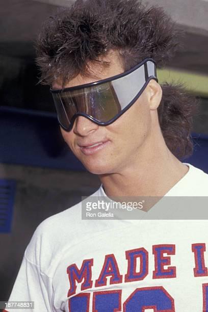 Bryan Genesse attends Hollywood AllStars Softball Game on June 13 1987 at Pepperdine University in Malibu California