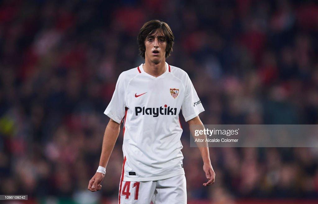 Sevilla FC v Athletic Club Bilbao - Copa del Rey Round of 16 : News Photo