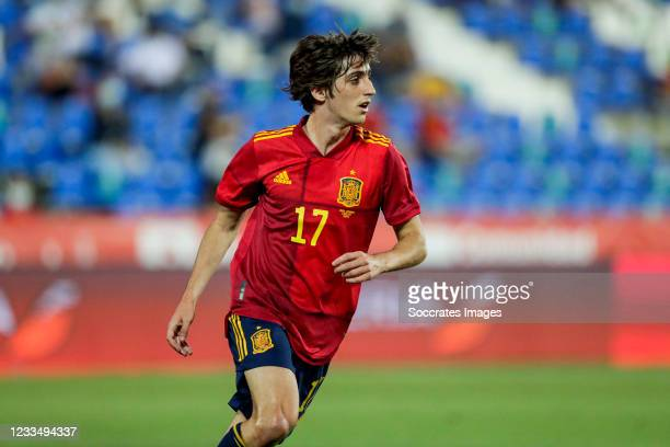 Bryan Gil of Spain during the International Friendly match between Spain v Lithuania at the Municipal Stadium of Butarque on June 8, 2021 in Leganes...