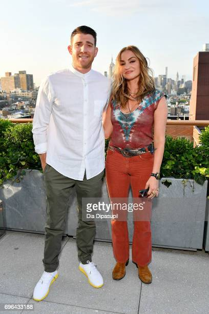 Bryan Greenberg and Drea de Matteo attend the 20th Anniversary Celebration of Clase Azul Tequila at Public hotel on June 15 2017 in New York City